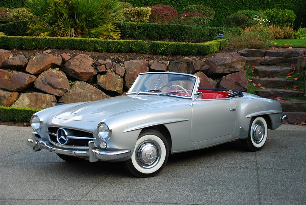 1959 mercedes benz 190sl convertible 45337 for Mercedes benz classic cars