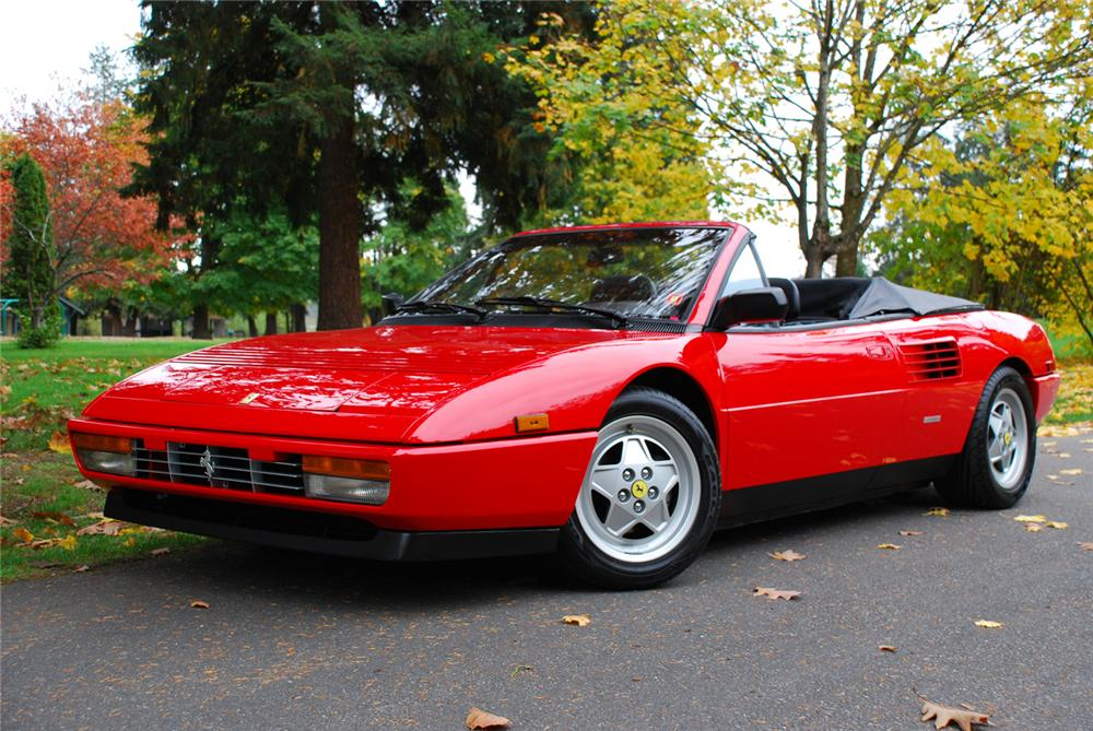 1989 ferrari mondial t cabriolet 45341. Black Bedroom Furniture Sets. Home Design Ideas