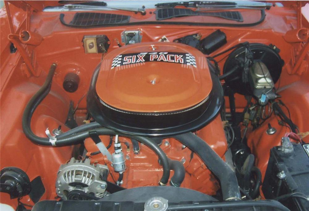 1971 PLYMOUTH CUDA COUPE - Engine - 45353