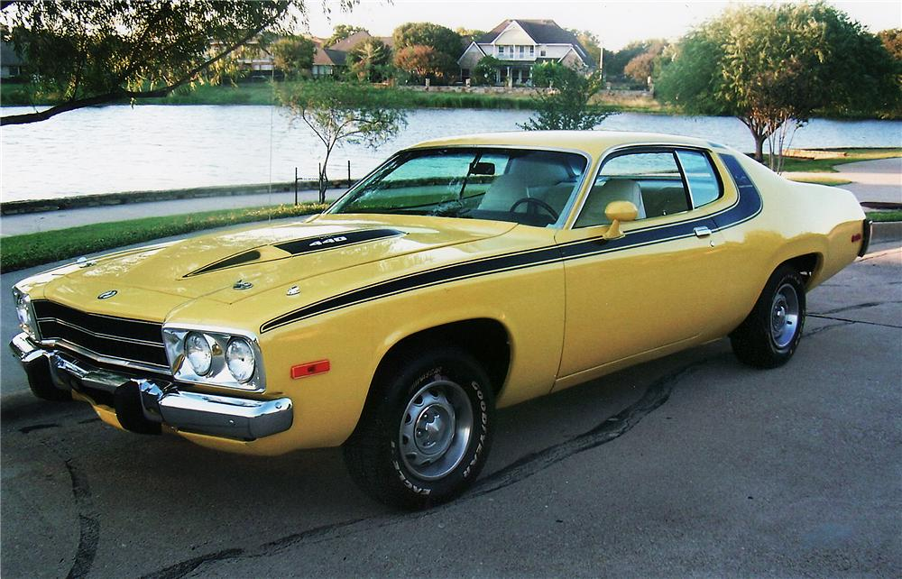 1974 PLYMOUTH ROAD RUNNER COUPE - Front 3/4 - 45354