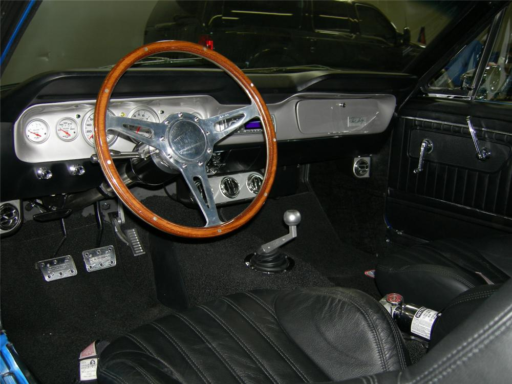 1966 FORD MUSTANG GT350SR CUSTOM FASTBACK - Interior - 45355