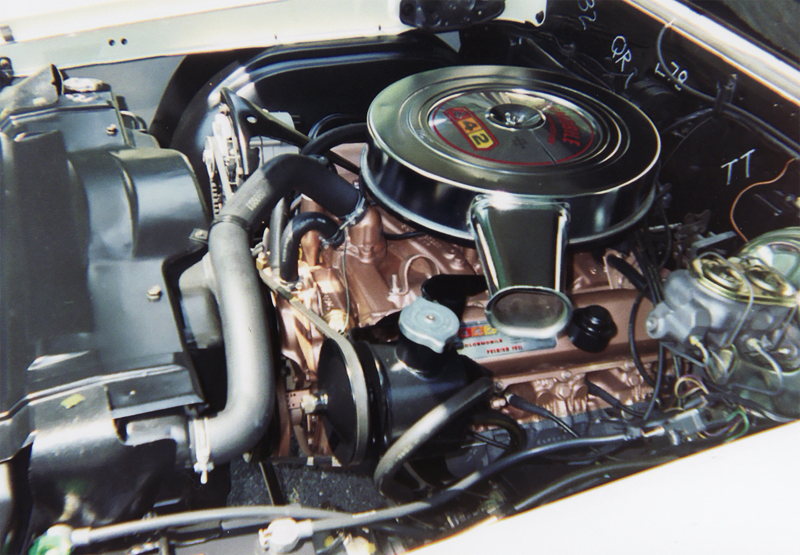 1967 OLDSMOBILE 442 COUPE - Engine - 45359