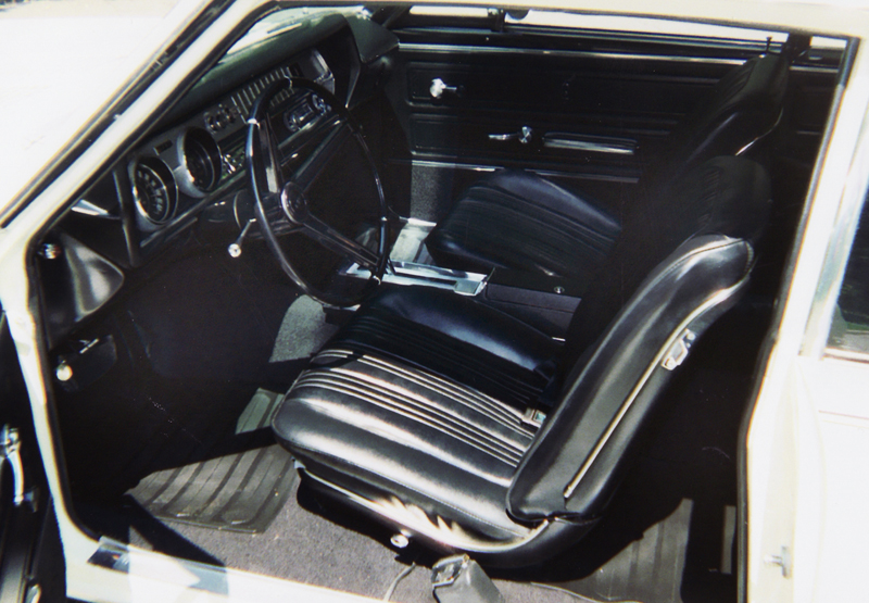 1967 OLDSMOBILE 442 COUPE - Interior - 45359
