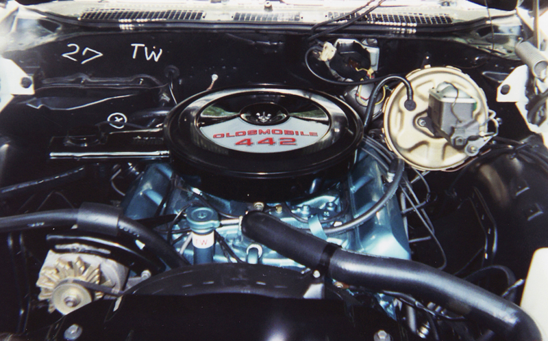 1970 OLDSMOBILE 442 COUPE - Engine - 45360