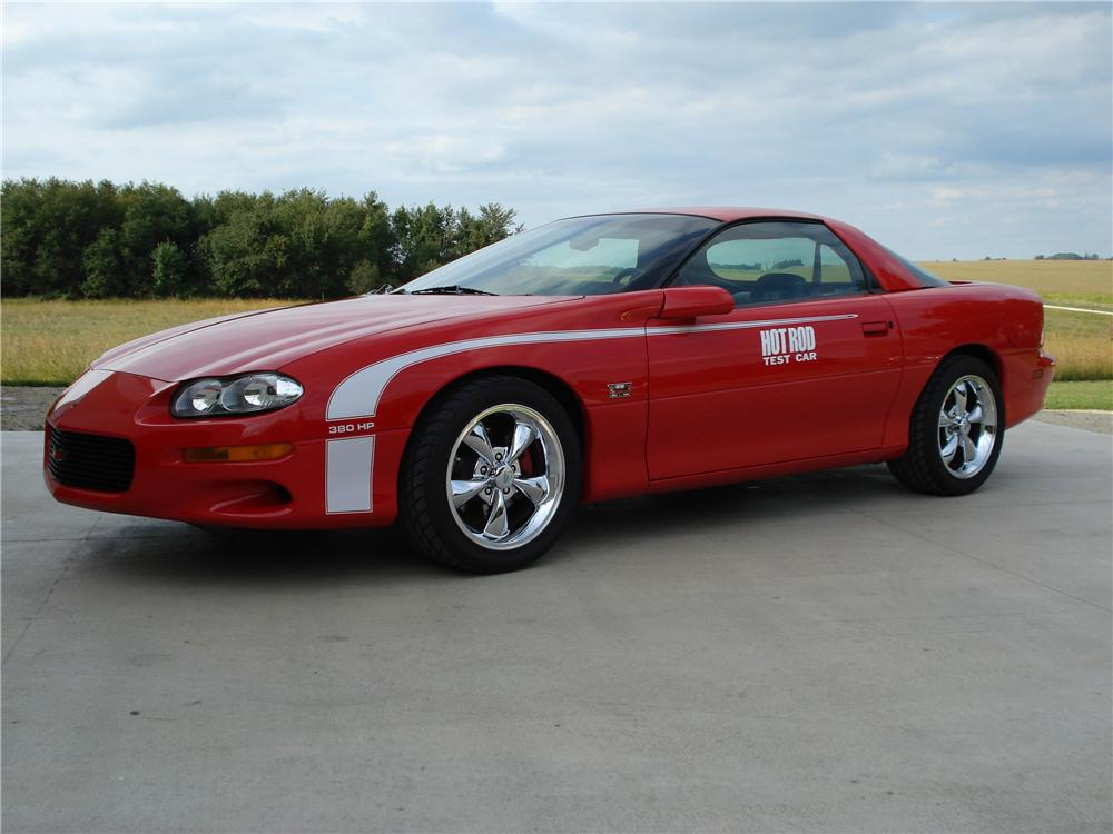 2002 CHEVROLET CAMARO Z/28 COUPE - Front 3/4 - 45367