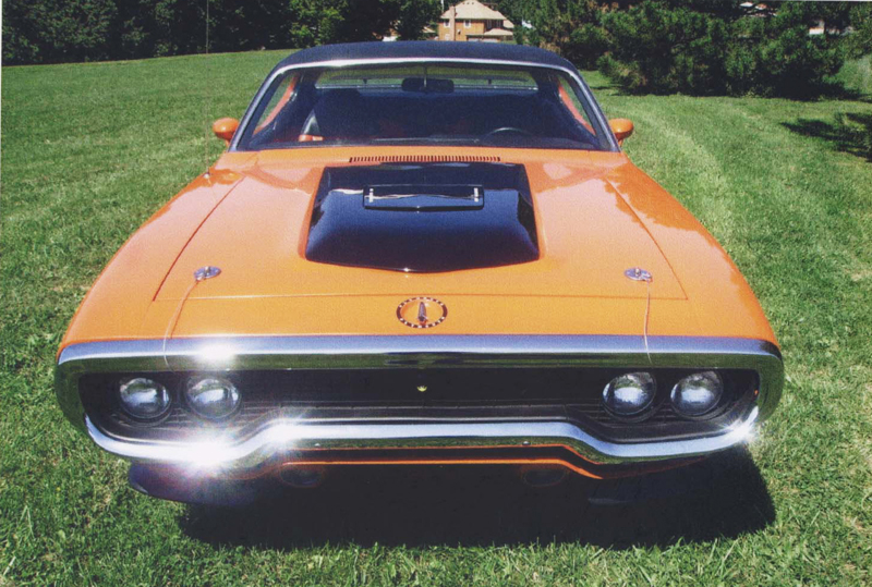 1971 PLYMOUTH ROAD RUNNER 2 DOOR HARDTOP HEMI-RECREATION - Misc 1 - 45368