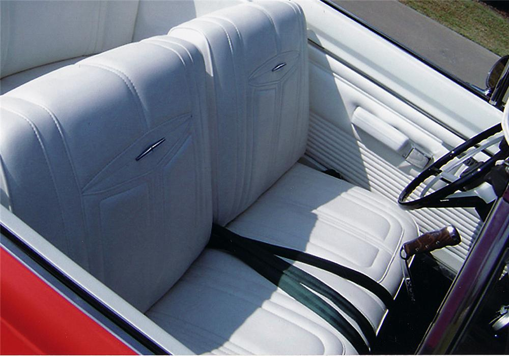 1968 DODGE DART GTS CUSTOM CONVERTIBLE - Interior - 45402