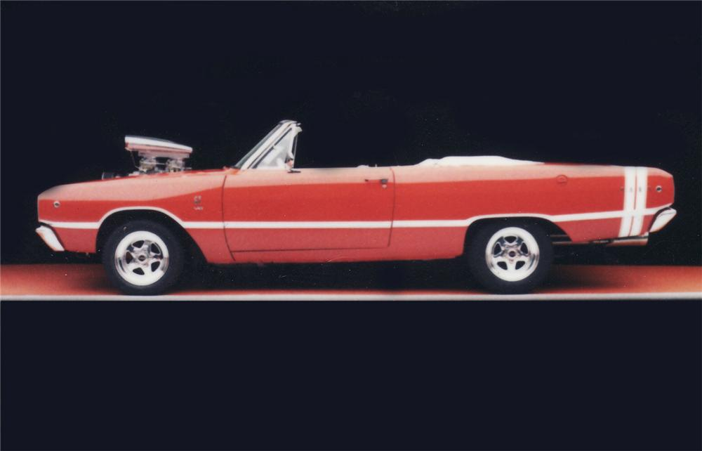 1968 DODGE DART GTS CUSTOM CONVERTIBLE - Misc 2 - 45402