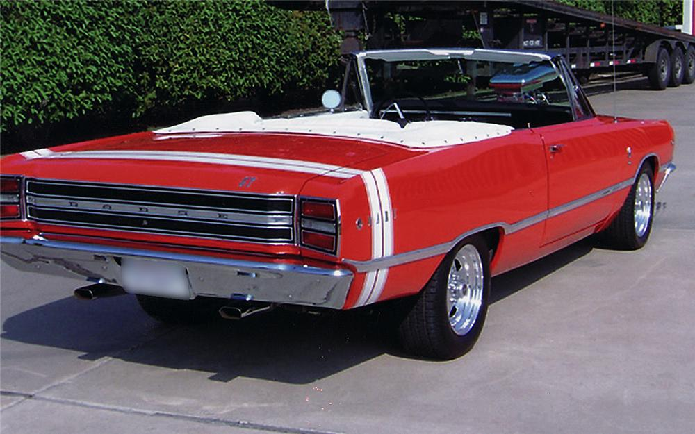 1968 DODGE DART GTS CUSTOM CONVERTIBLE - Rear 3/4 - 45402