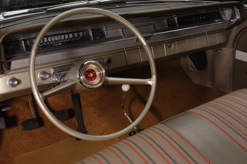 1962 PONTIAC CATALINA SUPER DUTY 2 DOOR - Interior - 45421