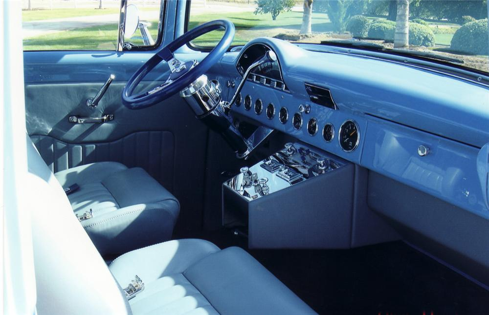 1956 FORD F-100 CUSTOM PICKUP - Interior - 45468