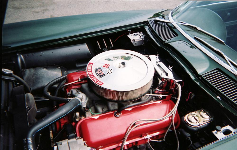 1967 CHEVROLET CORVETTE CONVERTIBLE - Engine - 45471