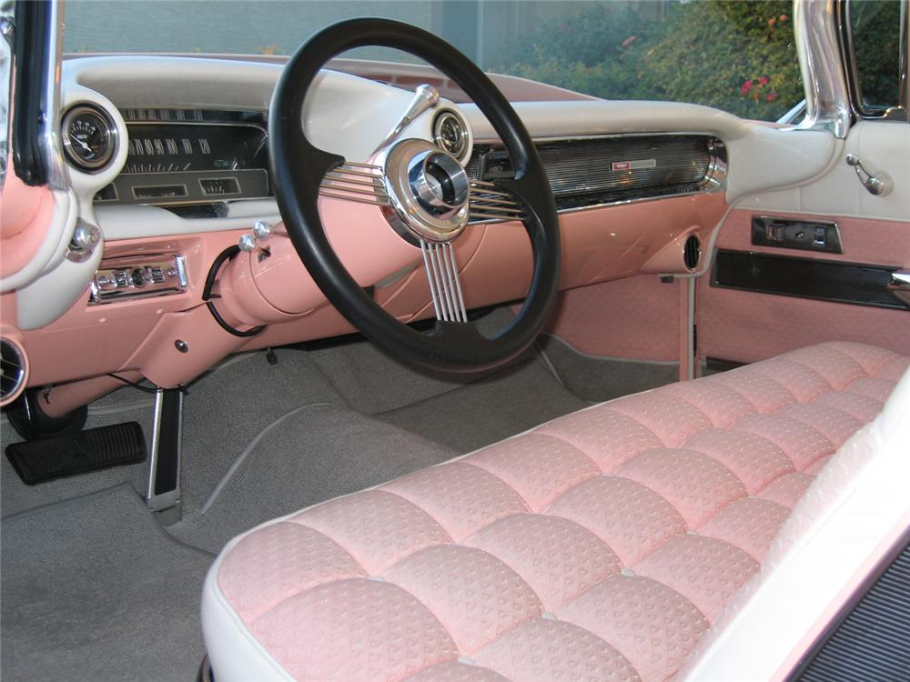 1960 CADILLAC COUPE DE VILLE CUSTOM - Interior - 45473