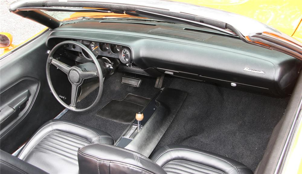 1970 PLYMOUTH CUDA CUSTOM CONVERTIBLE - Interior - 45576