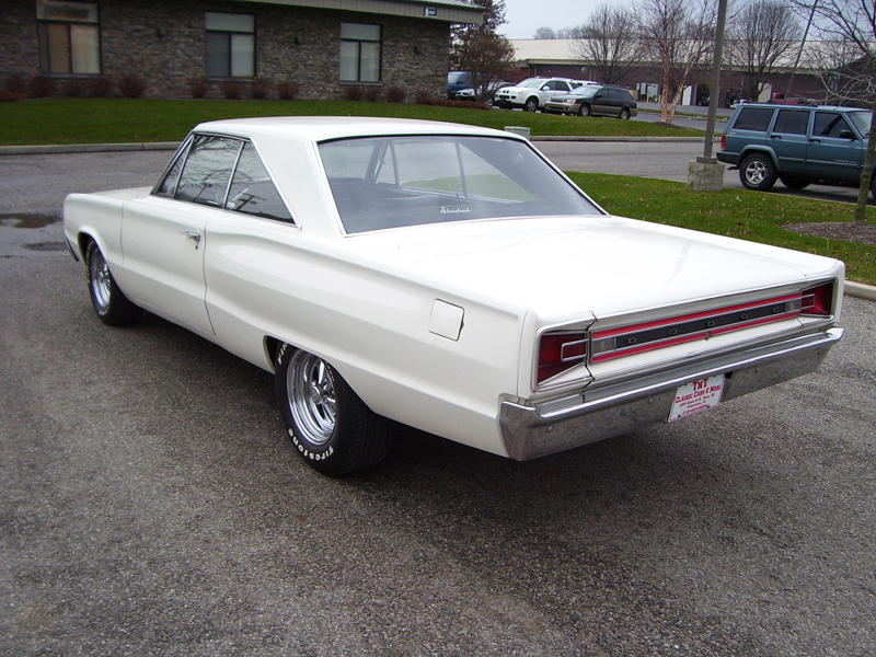 1966 DODGE CORONET 2 DOOR HARDTOP - Rear 3/4 - 45626