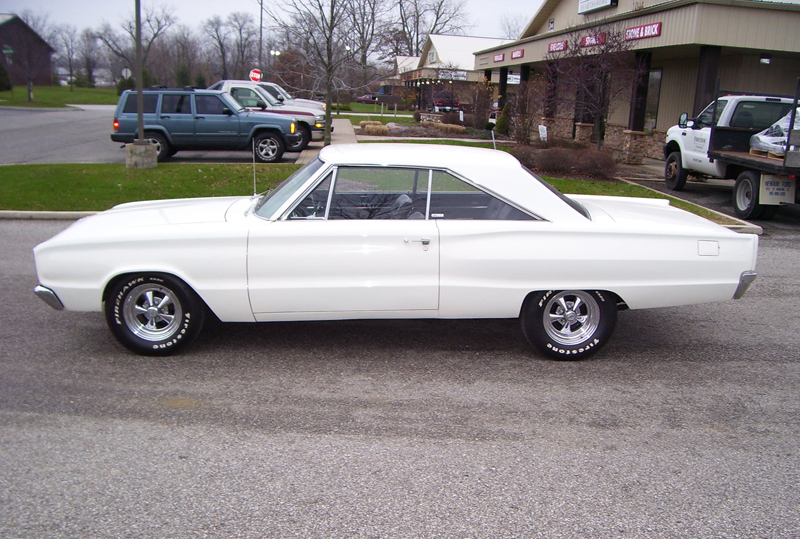 1966 DODGE CORONET 2 DOOR HARDTOP - Side Profile - 45626