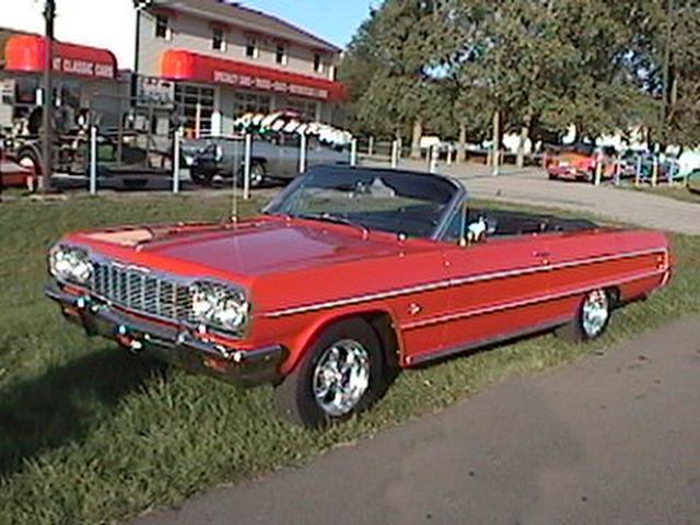 1964 CHEVROLET IMPALA CONVERTIBLE - Front 3/4 - 45627