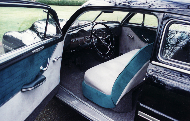 1950 MERCURY 2 DOOR COUPE - Interior - 45791
