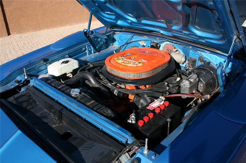 1970 PLYMOUTH HEMI SUPERBIRD COUPE - Engine - 45886
