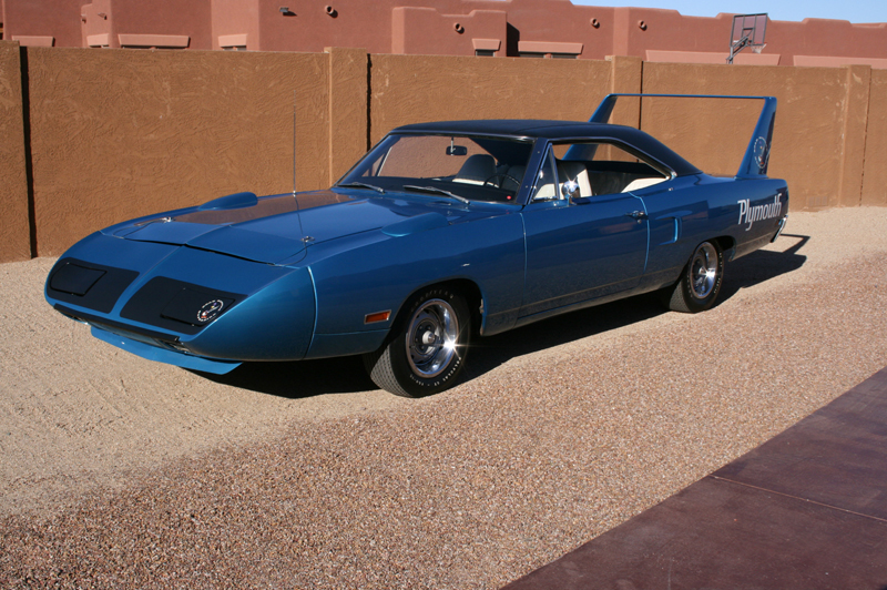 1970 PLYMOUTH HEMI SUPERBIRD COUPE - Front 3/4 - 45886