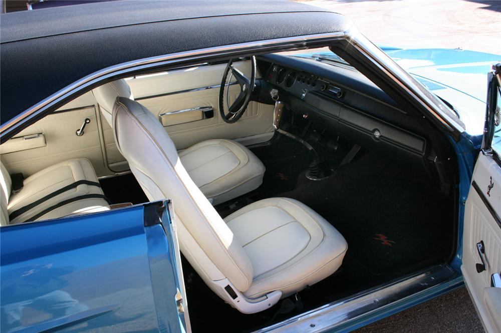 1970 PLYMOUTH HEMI SUPERBIRD COUPE - Interior - 45886