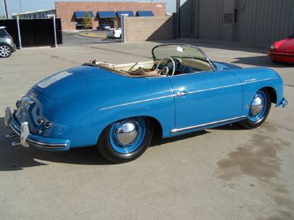 1955 PORSCHE 356 SPEEDSTER - Rear 3/4 - 46254