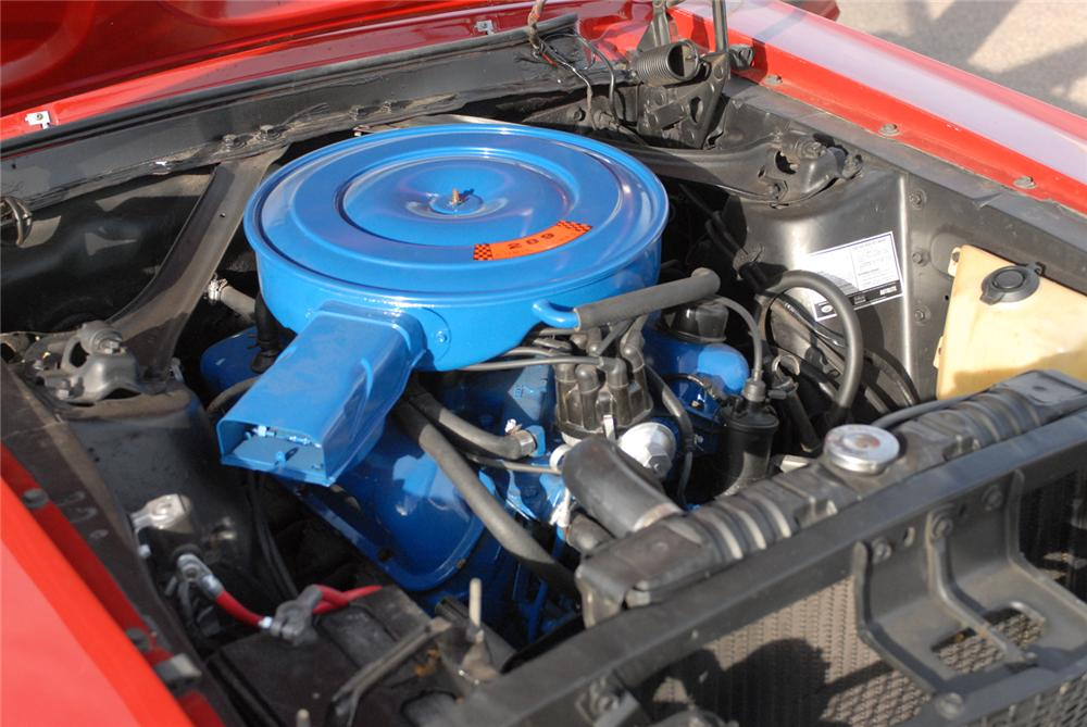 1968 FORD MUSTANG COUPE - Engine - 47210