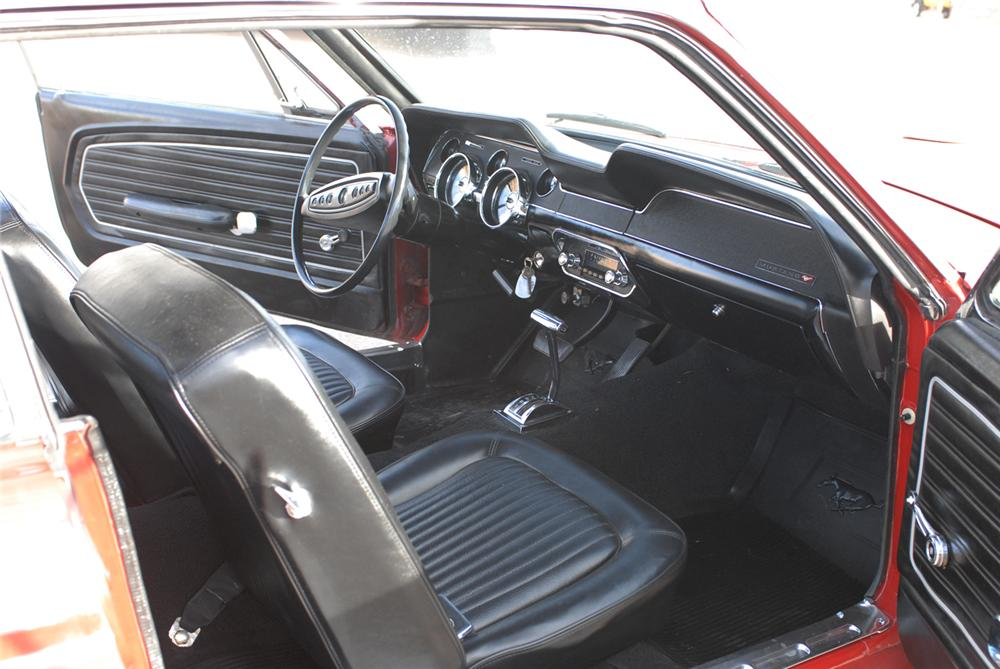 1968 FORD MUSTANG COUPE - Interior - 47210