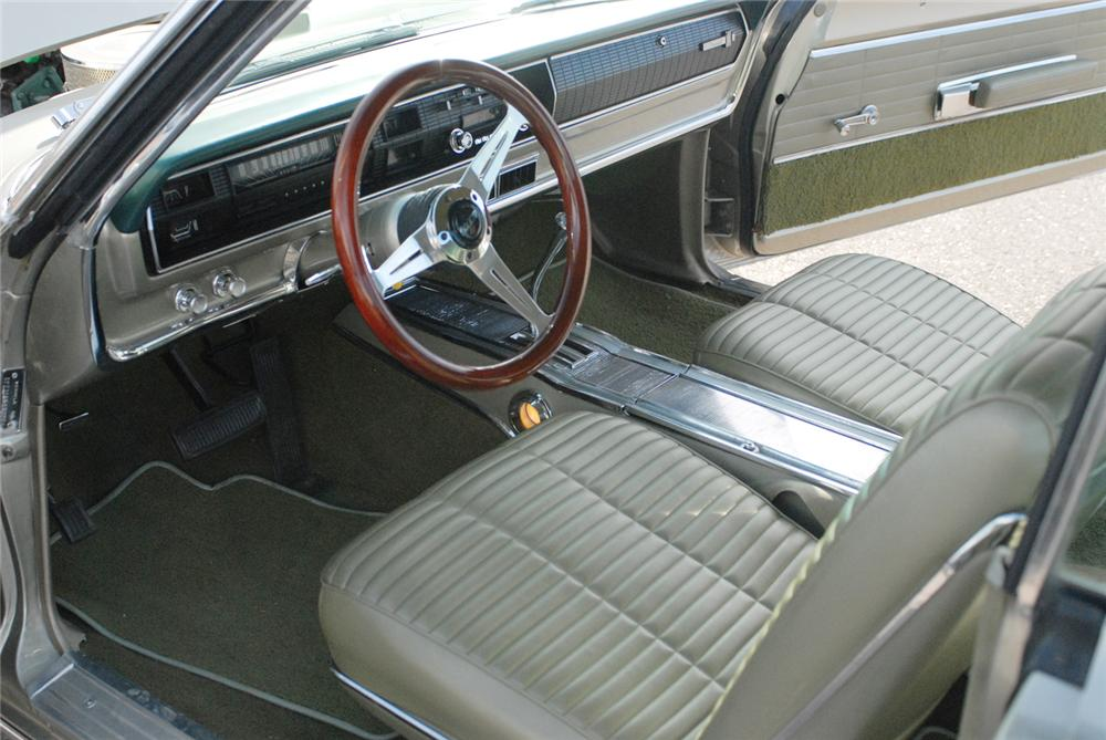 1966 DODGE CORONET 500 2 DOOR HARDTOP - Interior - 47217