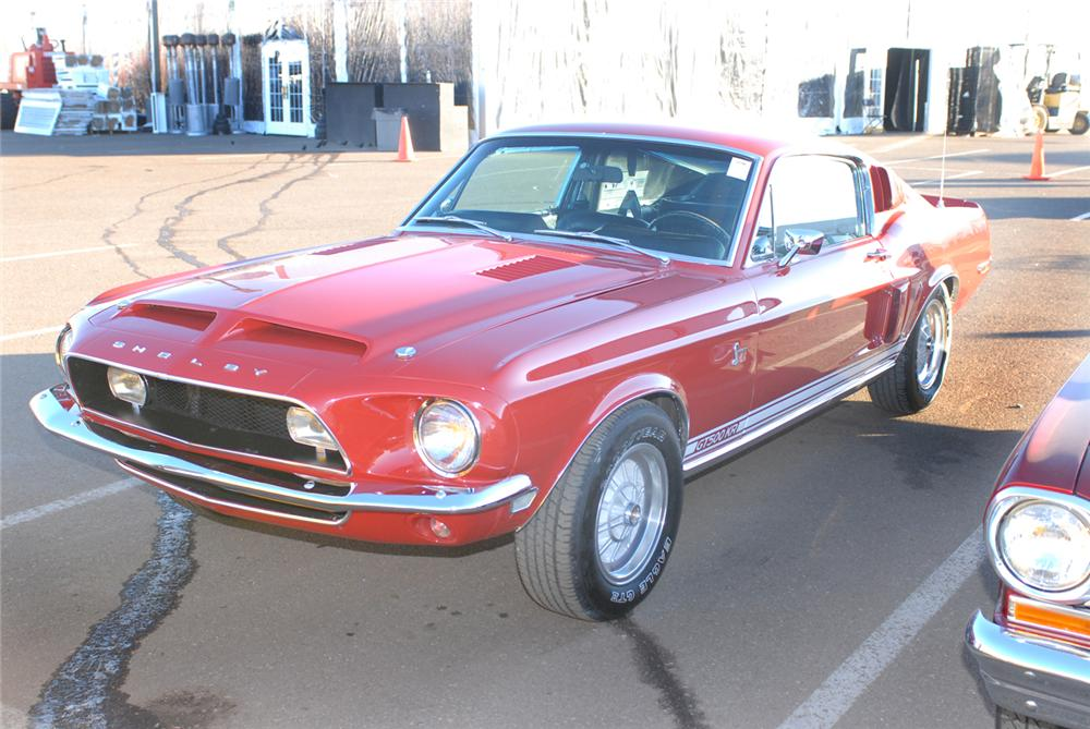 1968 SHELBY GT500 KR FASTBACK - Front 3/4 - 47480