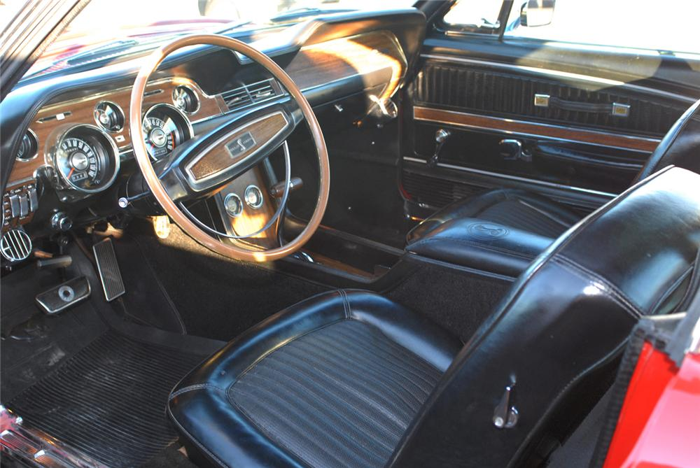 1968 SHELBY GT500 KR FASTBACK - Interior - 47480
