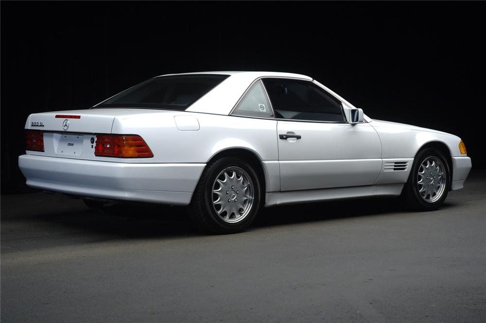 1991 MERCEDES-BENZ 500SL CONVERTIBLE - Rear 3/4 - 47833