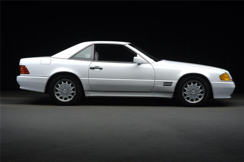 1991 MERCEDES-BENZ 500SL CONVERTIBLE - Side Profile - 47833