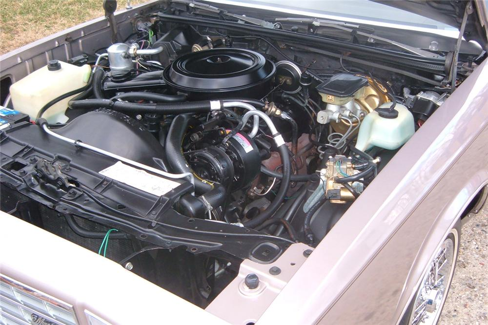 1983 CHEVROLET MONTE CARLO SPORT COUPE - Engine - 48919