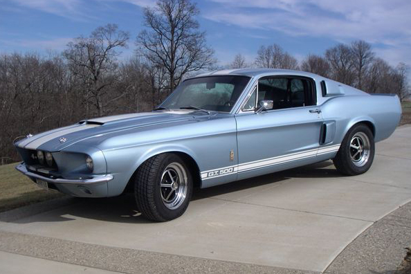1967 SHELBY GT500 FASTBACK - Front 3/4 - 48926