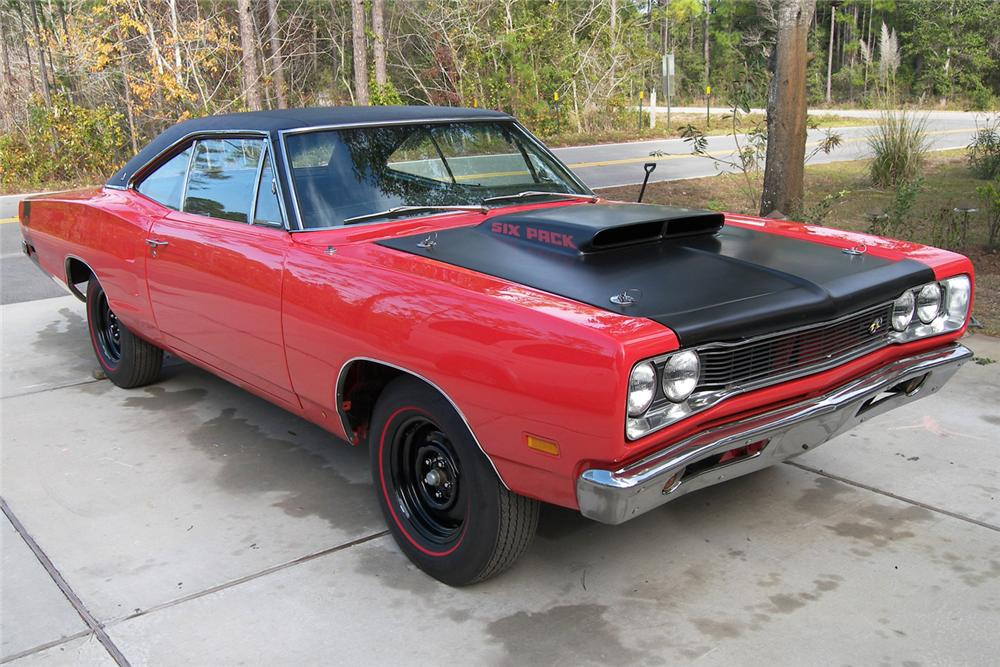 1969 DODGE SUPER BEE 2 DOOR HARDTOP - Front 3/4 - 48928