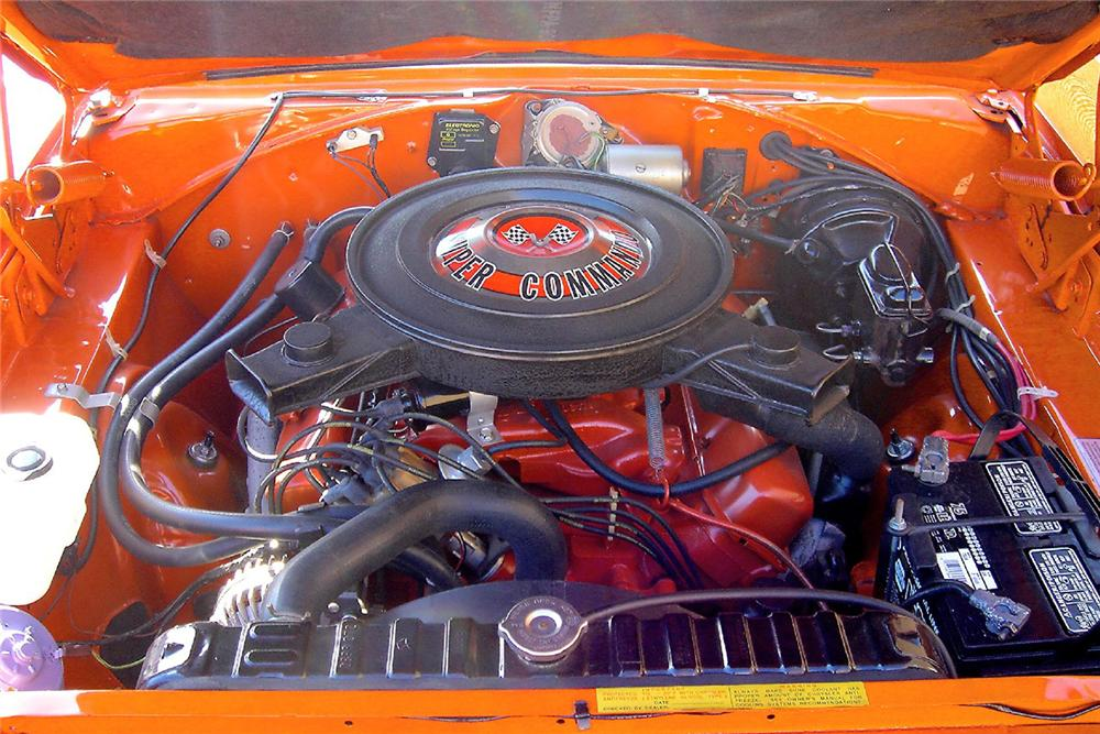 1970 PLYMOUTH SUPERBIRD 2 DOOR HARDTOP - Engine - 48947