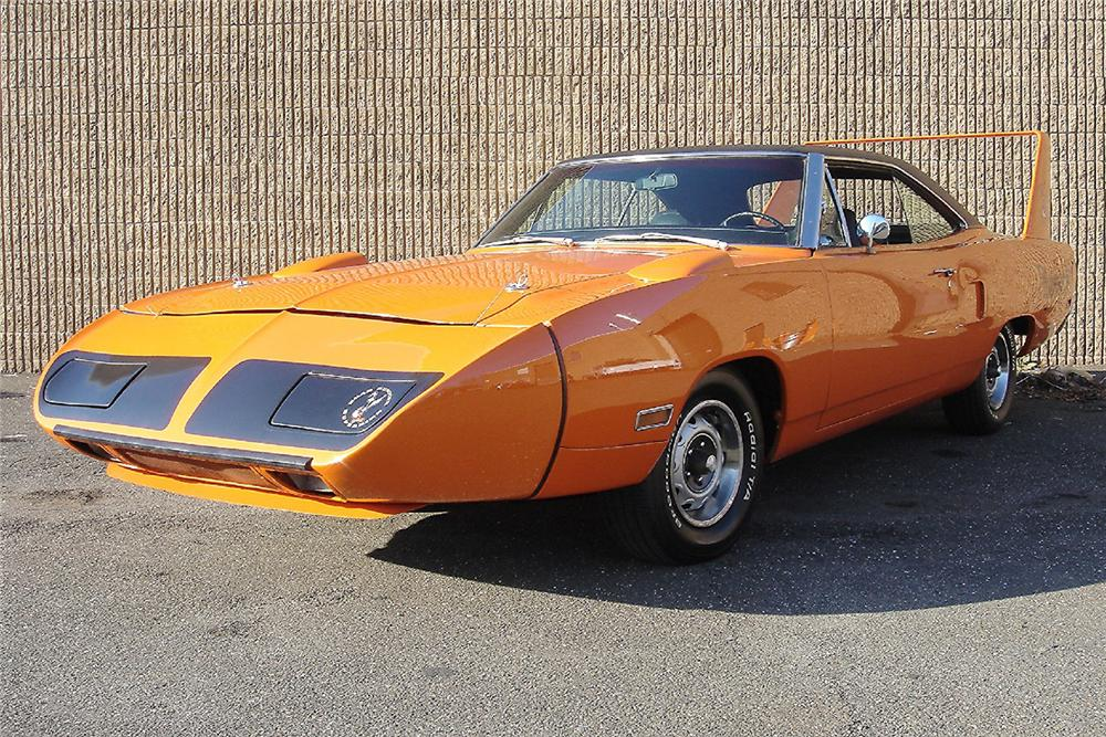 1970 PLYMOUTH SUPERBIRD 2 DOOR HARDTOP - Front 3/4 - 48947