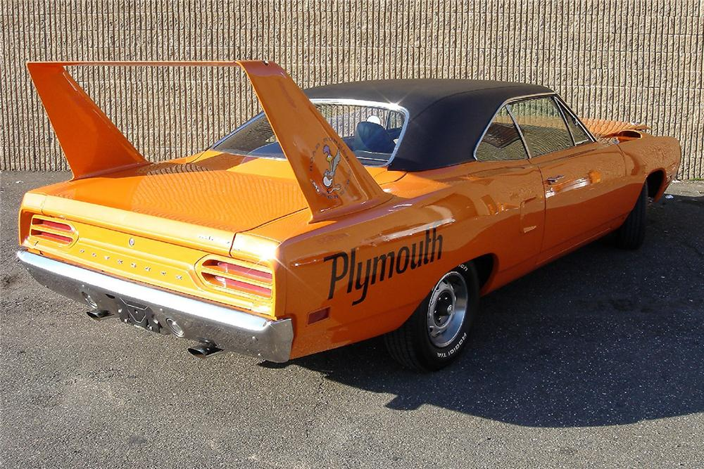 1970 PLYMOUTH SUPERBIRD 2 DOOR HARDTOP - Rear 3/4 - 48947