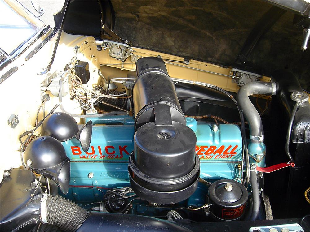 1949 BUICK SERIES 56 C SUPER CONVERTIBLE - Engine - 48953