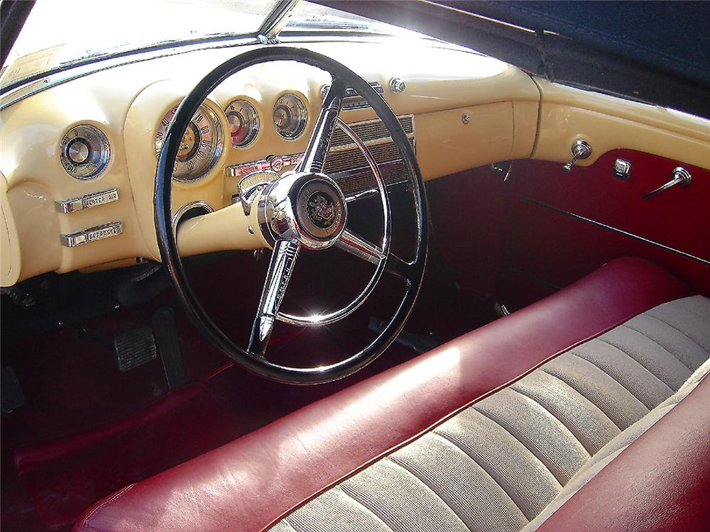 1949 BUICK SERIES 56 C SUPER CONVERTIBLE - Interior - 48953