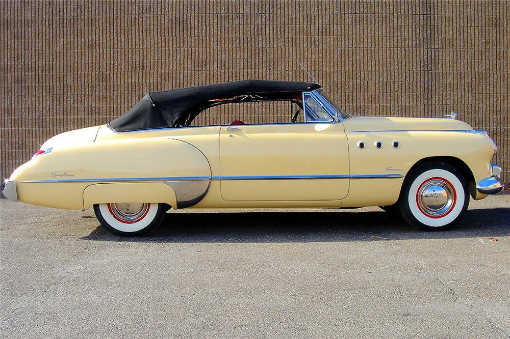 1949 BUICK SERIES 56 C SUPER CONVERTIBLE - Side Profile - 48953