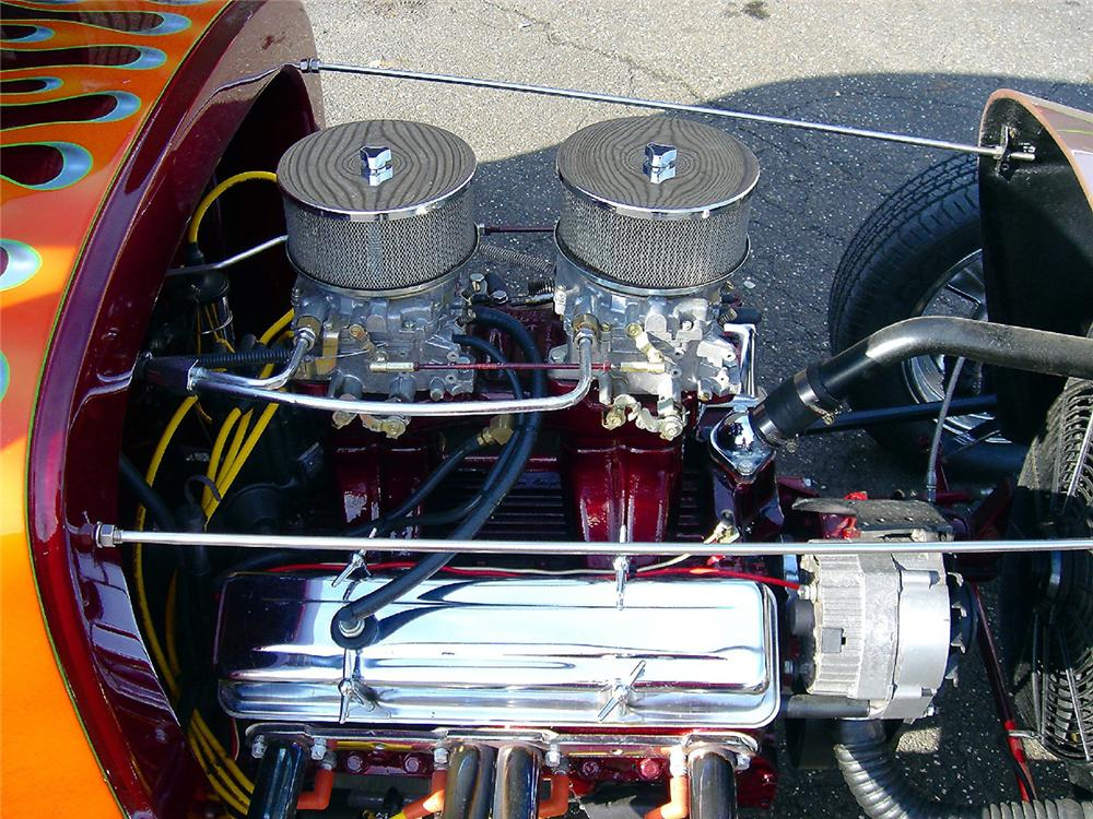 1929 FORD MODEL A CUSTOM HOT ROD COUPE - Engine - 48957