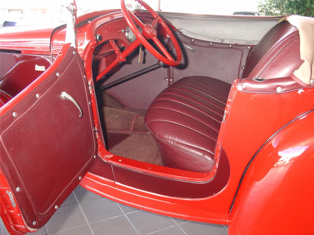 1939 BANTAM ROADSTER   - Interior - 48992