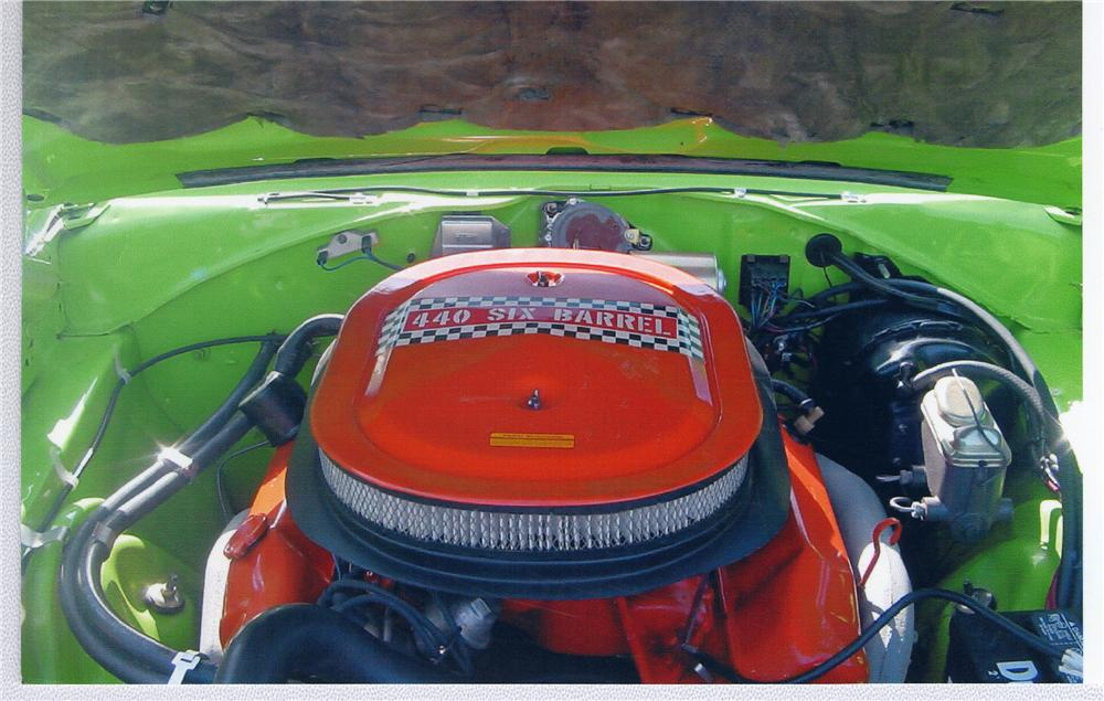 1970 PLYMOUTH SUPERBIRD   - Engine - 48994