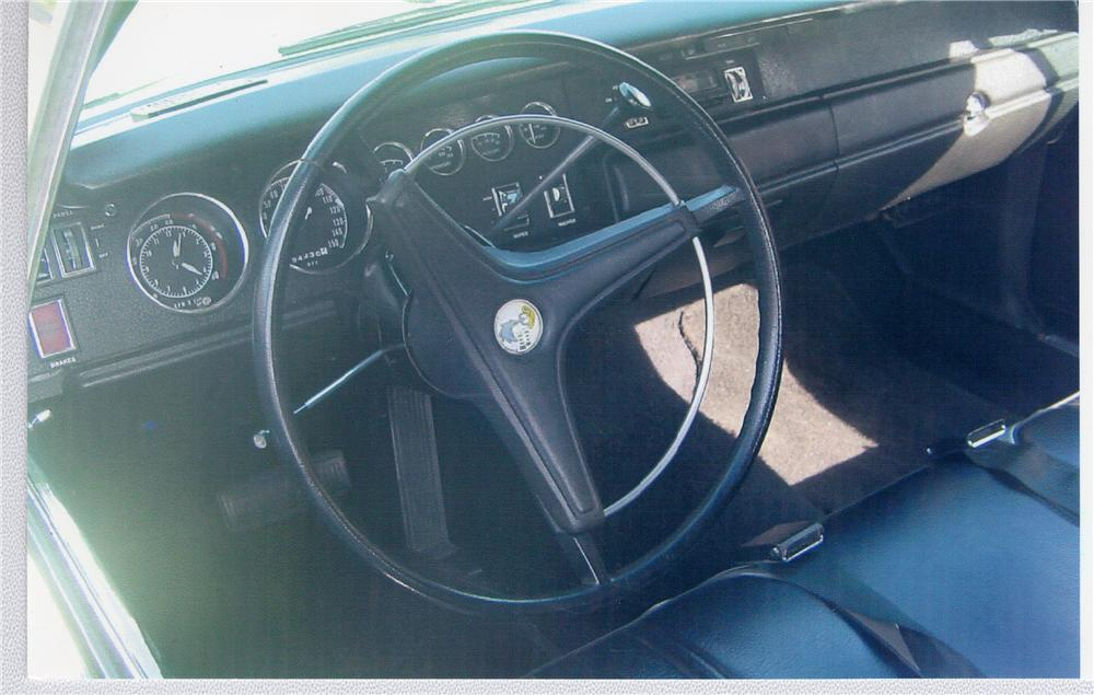 1970 PLYMOUTH SUPERBIRD   - Interior - 48994