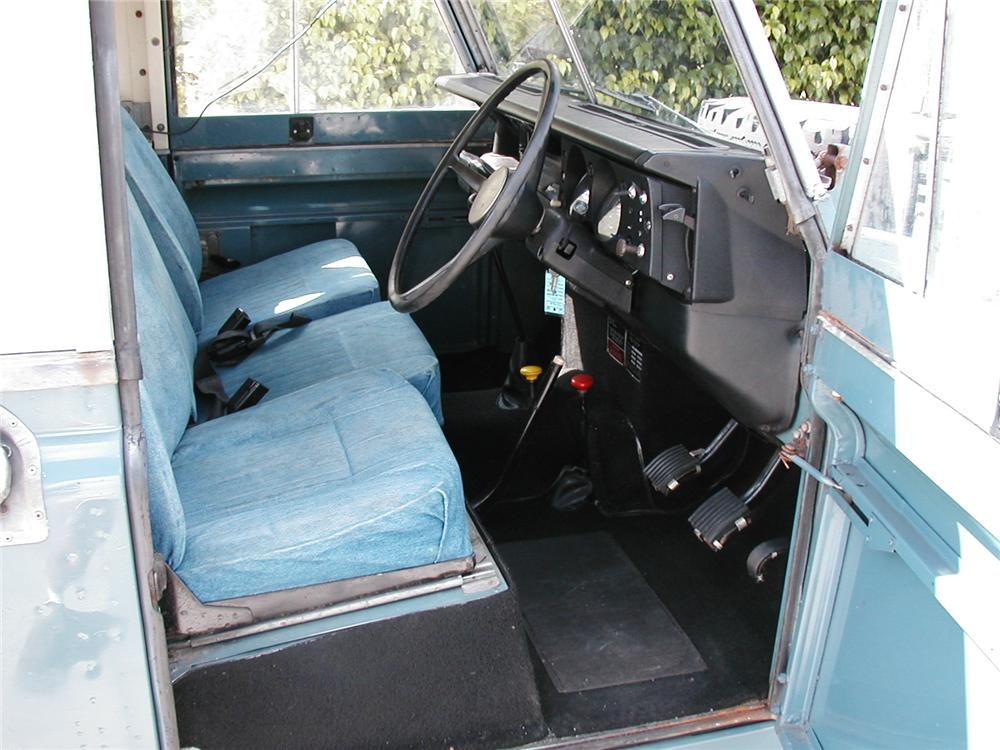 1975 LAND ROVER SERIES 3 SUV - Interior - 49011