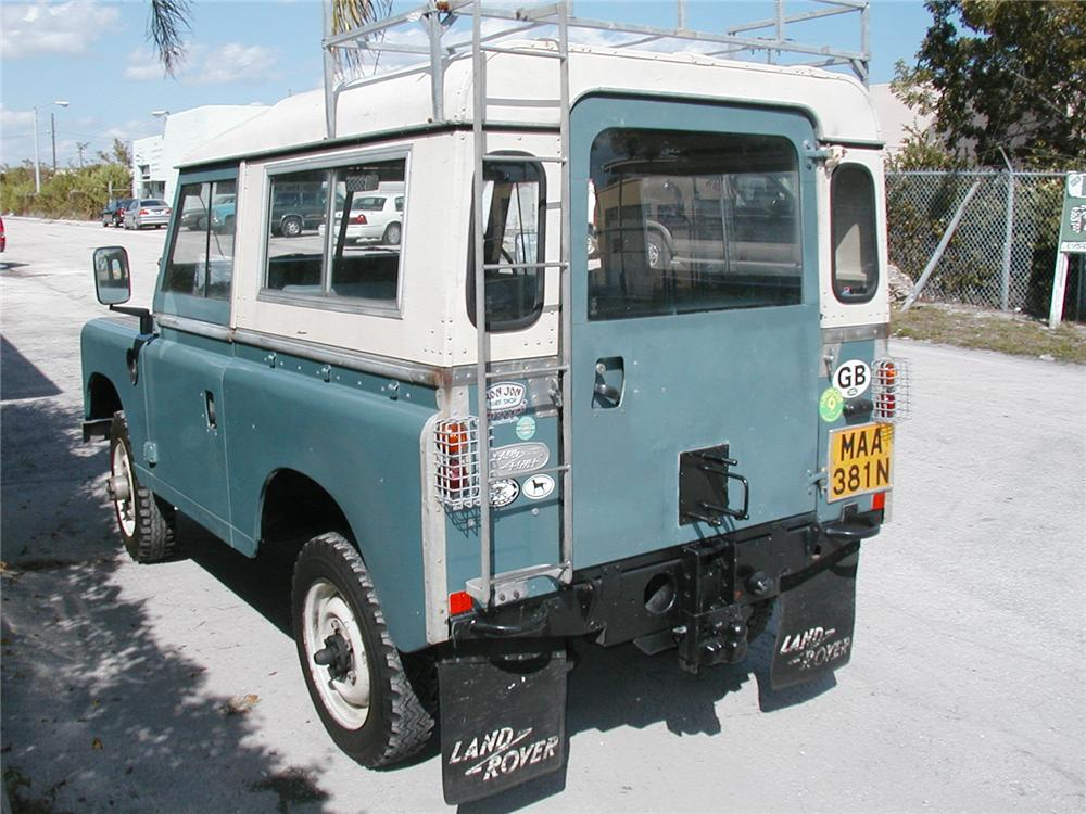 1975 LAND ROVER SERIES 3 SUV - Rear 3/4 - 49011