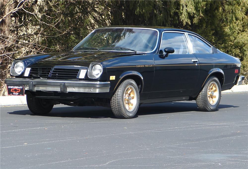 1975 CHEVROLET VEGA COSWORTH COUPE - Front 3/4 - 49013
