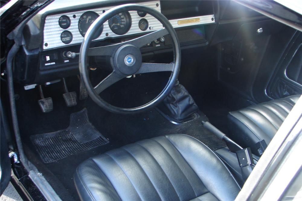 1975 CHEVROLET VEGA COSWORTH COUPE - Interior - 49013
